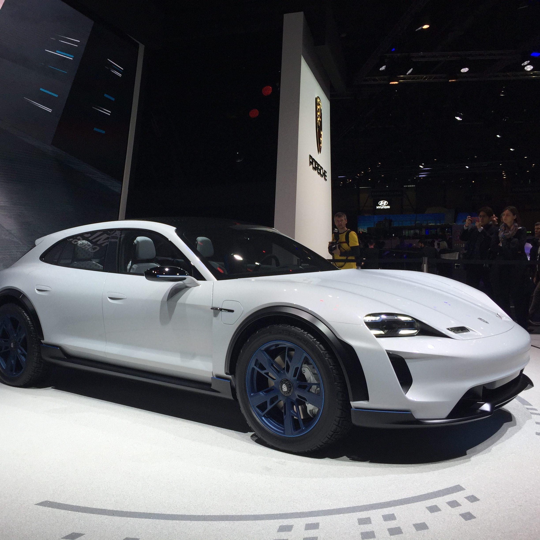 Porsche Concept Car LED Ansteuerung