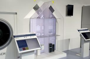 BOSCH Thermotechnik Modellhaus